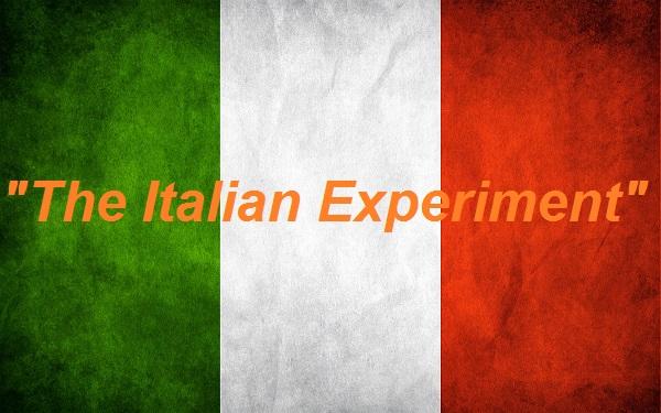 """ESTERNAZIONI DI UN MISANTROPO """"QUASI"""" INCALLITO. 18/01/17  """"THE ITALIAN EXPERIMENT"""""""